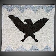 Northwest Coast Native American Salish Blanket Eagle Crest
