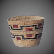 Northwest Coast Native American Indian Tlingit Basket