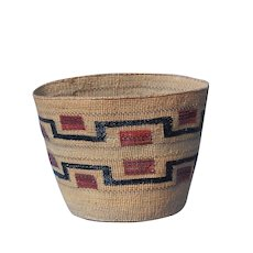 Northwest Coast Native American Indian Tlingit Basket