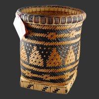 Native American Indian Basket Cherokee  Quality Weaving