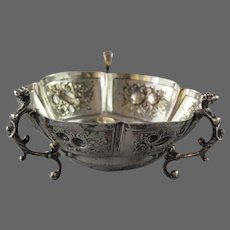 Jonathon Newton Mappin 1889 Sterling Silver Bowl Mappin and Webb