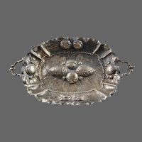 New Orleans Silversmith Sterling Candy Dish 17th C. Style  American Silver