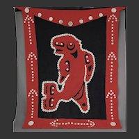 Northwest Coast Native Button Blanket Apron Kwakwaka'wakw