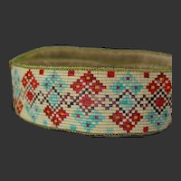 Native American Indian Porcupine Quill Belt, Sash 19th C.