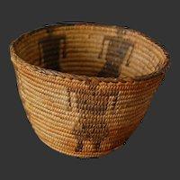 Native American Pima Figural Basket of Woman