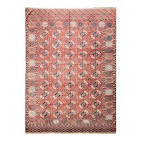 "Antique Tekke Main Carpet, Turkoman, 6'7"" x 9'6"" #01004, c-1880"