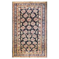 """Antique Persian Baktiari Carpet, 7'3"""" x 11'6"""", c-1920's #10484"""