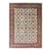 7' x 10' Gorgeous Antique Sultanabad Carpet, c-1900's
