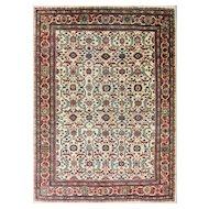 7' x 10' Gorgeous Antique Sultanabad Carpet, c-1900's