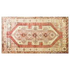 """5'4"""" x 9'1""""  Incredible Turkish Oushak Carpet, c-1940"""