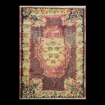 Antique Bessarabian Kilim, 5' x 7' #15810 c-1900