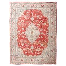 "Antique Turkish Oushak Carpet, 11'0"" x 15'0"", c-1900's"