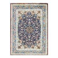 "3'3"" x 4'8"" Very Fine Persian Isfahan Rug"