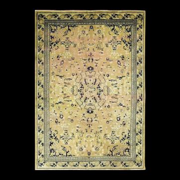 "Antique Art Deco Chinese Oriental Rug, 4'6"" x 6'8"" c-1900's"