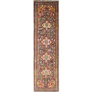 3' x 12' Unusual Antique Qashgai Runner, c-1880's