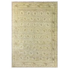 "Antique Khotan Carpet, 7'6"" x 11'2"" #16663, c-1900"