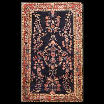 """Persian Sarouk Rug, 2'10"""" x 4'10"""", c-1920"""