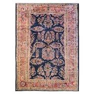 "8'7"" x 12'3"" Persian Mohajeran Sarouk Carpet, c-1920"