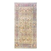 """5'5"""" x 11'4"""" Stunning Antique Kermanshah, Gallery Size, c-1880's"""