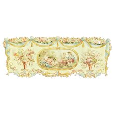 "62"" x 34"" Very Fine Aubusson Tapestry Great Colors. c-1920's"