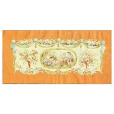 "5'10"" x 2'10"" Extreme Fine Aubusson Tapestry, c-1930's"