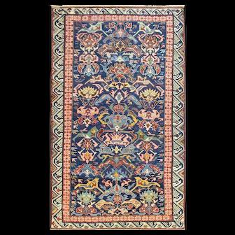 Antique Seychour Caucasian Rug, c-1880