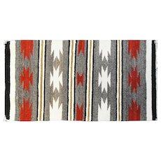 "1'7"" x 2'11"" Southwest weaving Rug, c-1950"