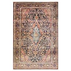 """Antique Persian Sarouk Rug, circa 1920 4'3"""" x 6'8"""" c-1920's"""