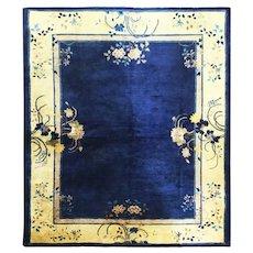 Antique Art Deco/Peking Chinese Carpet, c-1910 #17149