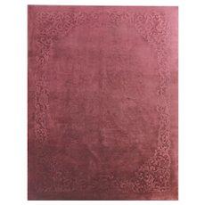 "Antique Art Deco Chinese Oriental Carpet, 8'9"" x 11'6"" #17240"