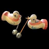 Japanese Folk Doves with bells 1970
