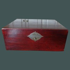 Chinese Lacquer Storage Trunk c. 1880