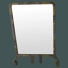 Queen Anne Chinoiserie Lacquer Mirror easel