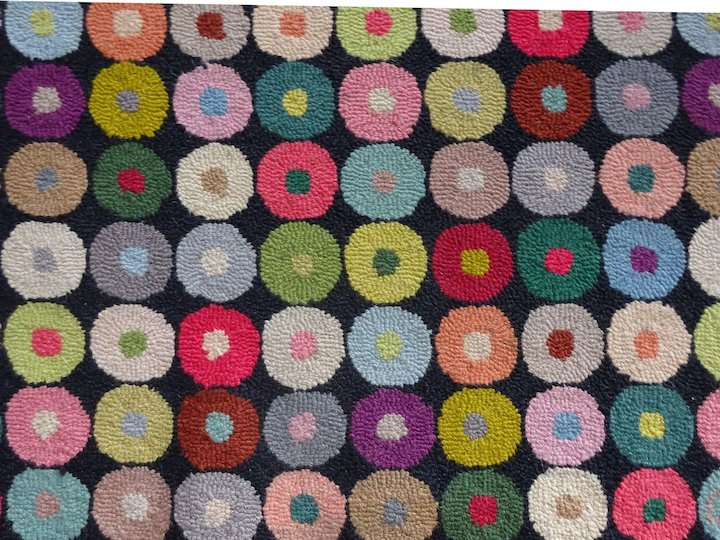 Hooked Area Rug Claire Murray Cow Hollow Quilts Collectibles