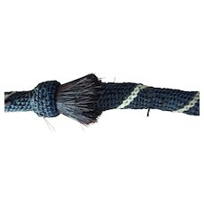 Northern Plains Horse Hair woven Crop  Whip  -
