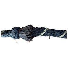 Northern Plains Horse Hair woven Crop  Whip  -