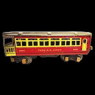 Ives Railroad Passenger Car 1691