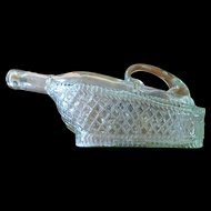 Wine Decanter Glass Basket Shape
