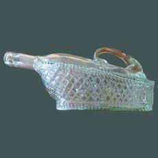Wine Decanter Glass Basket Shape