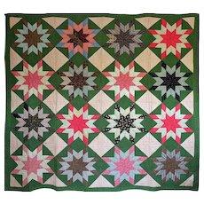 1800's Quilt--Unused GRAPHIC - Red Tag Sale Item