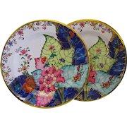 Tobacco Leaf Plates Tin Metropolitan Museum Gorgeous Colors