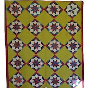 Antique Quilt - unused  19th c
