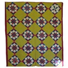 Antique Quilt - unused  19th c