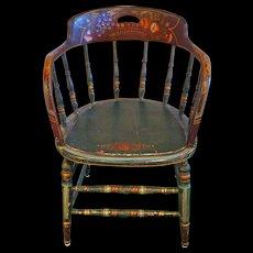 Antique PA Dutch Painted Chair