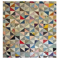 Antique Quilt TOP - 1000's of pieces