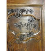 1800's c Louis XV Country French Armoire