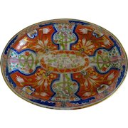 Antique Worcester small oval platter *Imari*