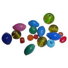 Tiny Box with Pekin Beads