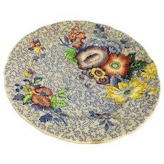 Spode Blue Chintz Dessert Plates 5 pcs. For display