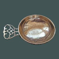 Tea Strainer - pretty perforation design